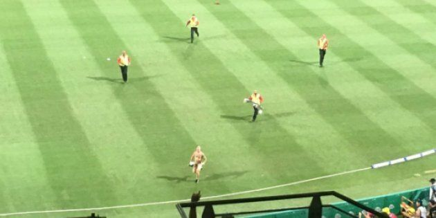 NSFW: Balls Were Flying At The Big Bash...For All The Wrong