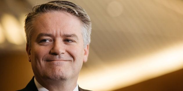 Finance Minister Mathias Cormann has been caught up in the MP expenses