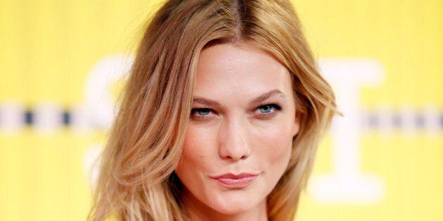 Model Karlie Kloss will hit the runway for David Jones in