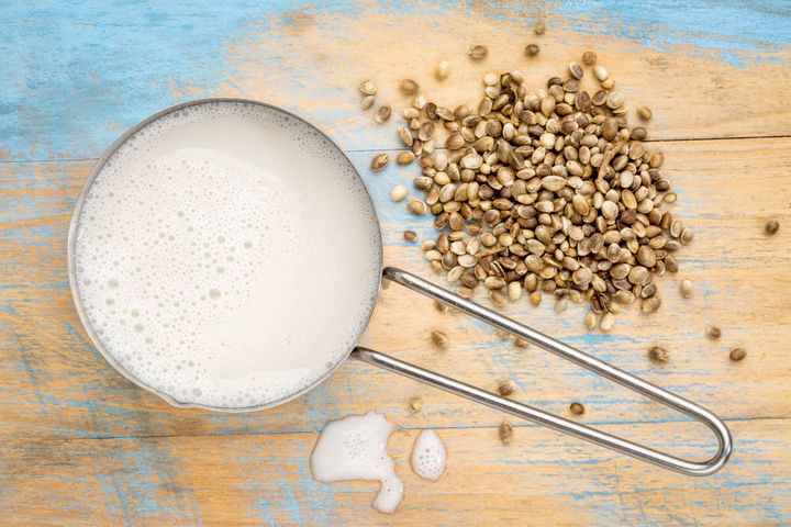 People are also using hemp seeds to make plant-based milk.