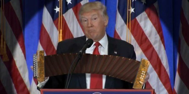 Aussie Video Wizard Makes Trump Play Accordion In Viral