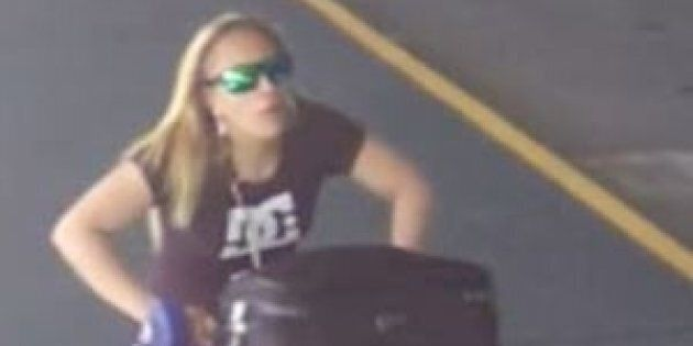 Police released this image of a woman they believe might help with