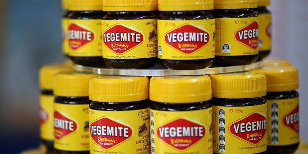 Vegemite is coming