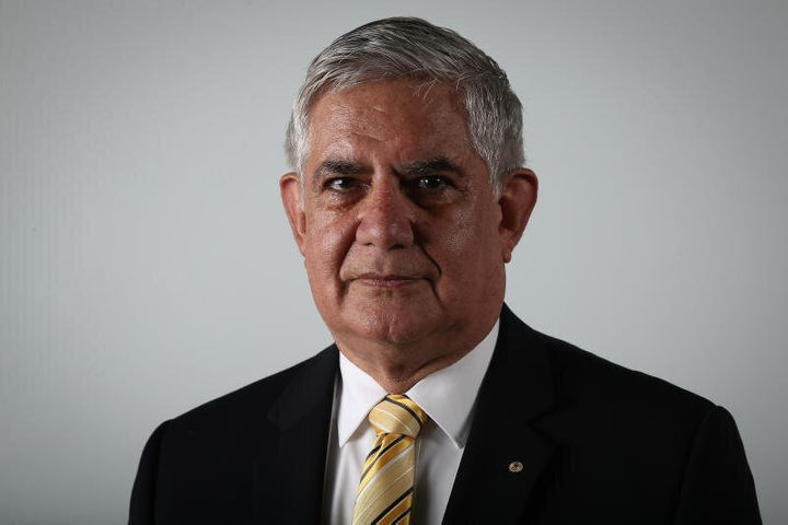 Liberal MP Ken Wyatt at Parliament House in Canberra