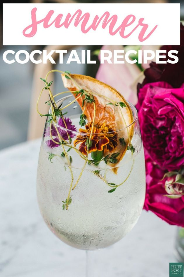 6 Icy Cocktails To Keep You Cool (And Breezy) This