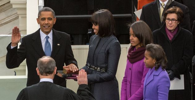 Obama got the oath right the second