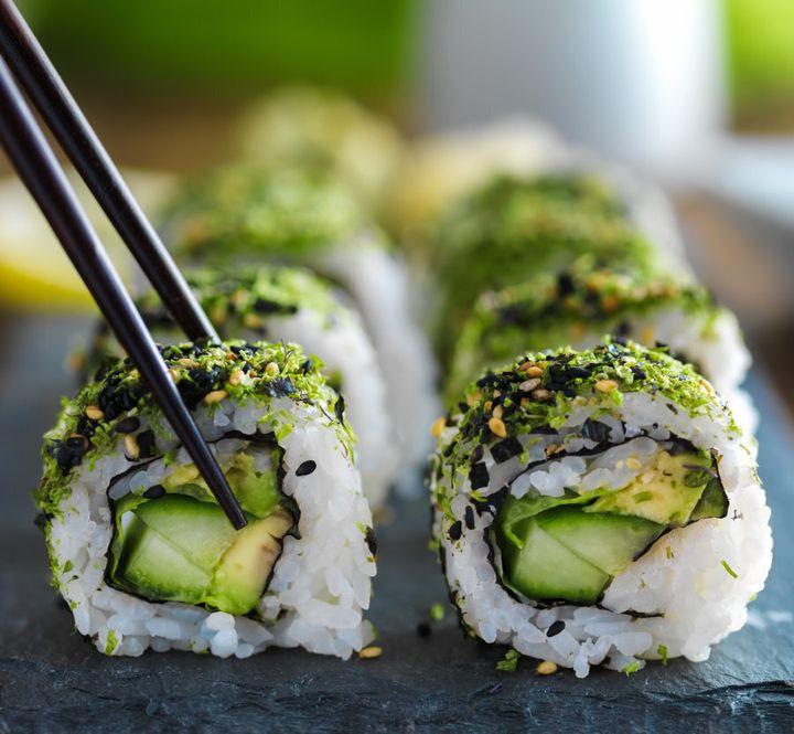 Hello, sushi.