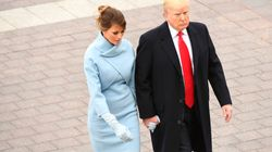 Melania Trump Echoes Jackie Kennedy In Ralph Lauren For Inauguration Day