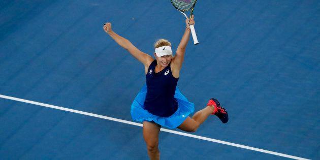 Dasha Gavrilova loved her victory as much we we love