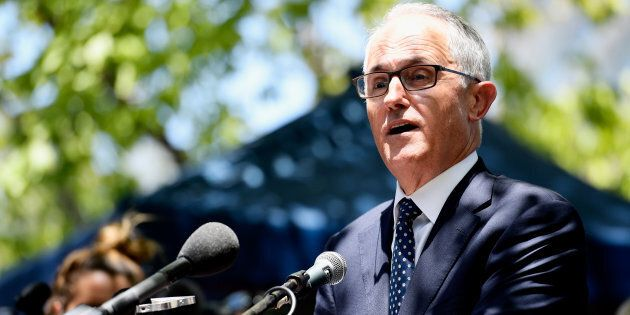 Prime Minister Malcolm Turnbull has laid a tribute at the memorial for those killed in Friday's tragic...
