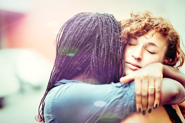 Hugs can help,