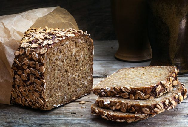 Opt for darker breads like rye and wholemeal