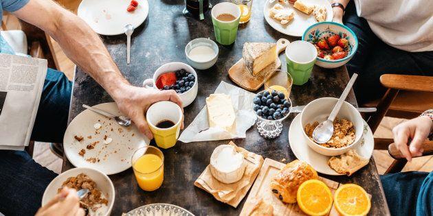 Eat your breakfast,