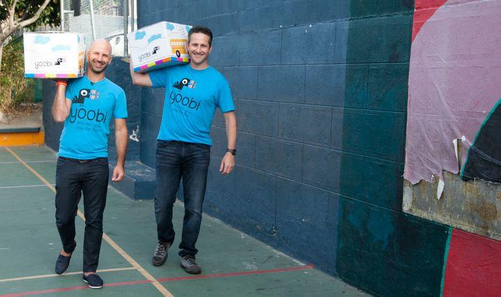 Yoobi founders Ido Leffler and Lance Kalish.