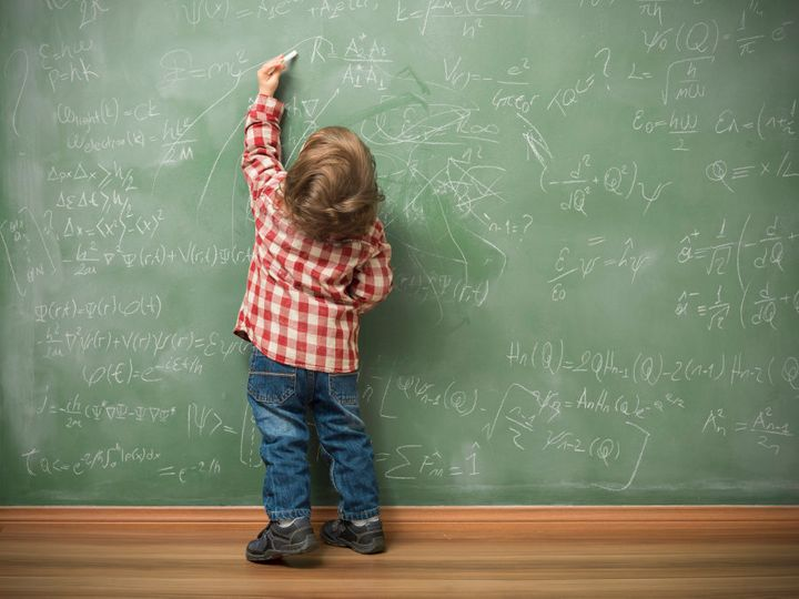 Psychologists believe a child's handedness tends to settle around the same time they acquire language.
