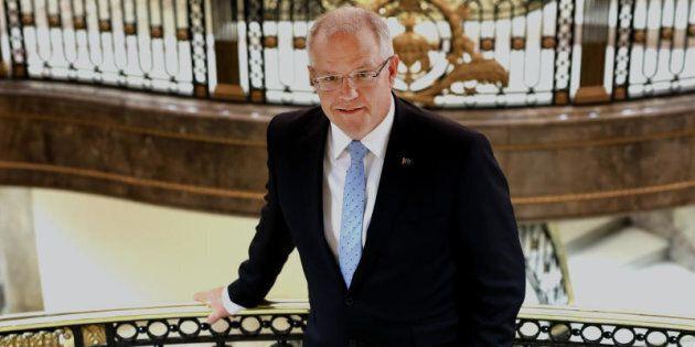 Treasurer Scott Morrison talks up 'Australia