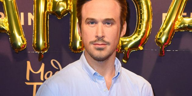 Ryan Gosling wax figure during the Ryan Gosling Wax Figure Unveiling At Madame Tussauds on January 23,...