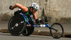 Kurt Fearnley Is Sensational In Historic OZ Day 10K Race