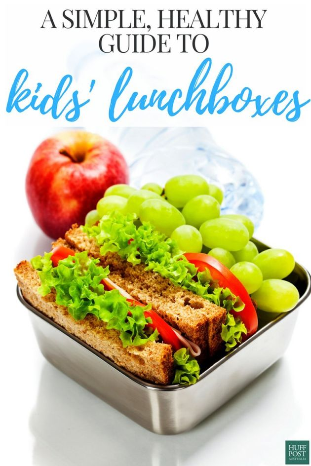 Get Ready For School With This Simple, Healthy Lunchbox