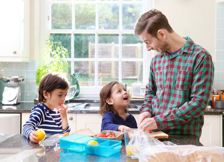 A healthy lunch helps children stay alert and active throughout the day.