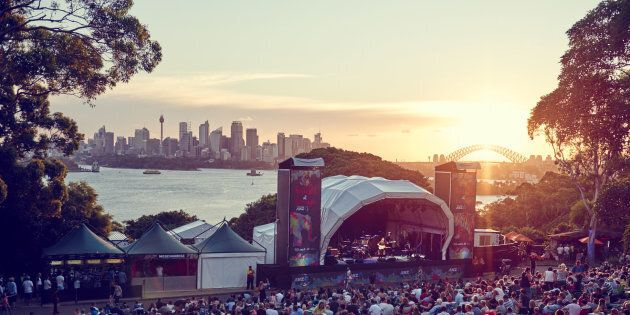 The view from Sydney's Taronga