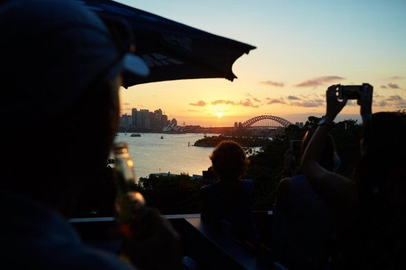 The view from Taronga's
