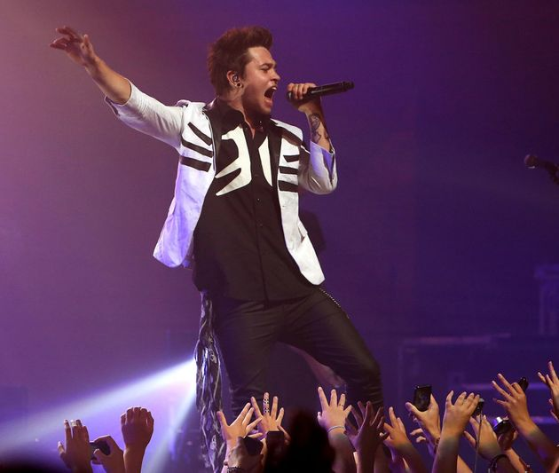 Reece Mastin performs live in Wellington, New