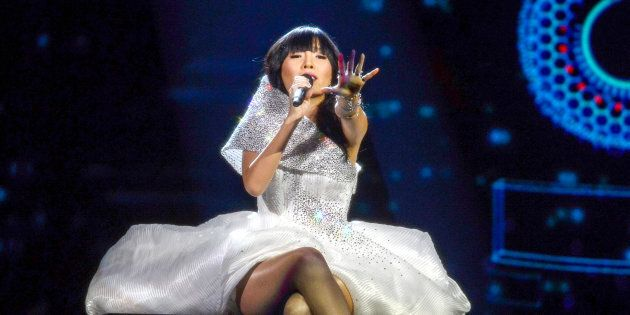 Australia's Dami Im performs at Eurovision.