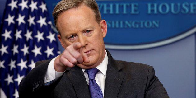 Sean Spicer is a talking point --