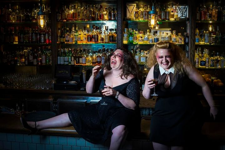 Maeve Marsden and Libby Wood appear in the hit Mother's Ruin: A Cabaret about Gin.