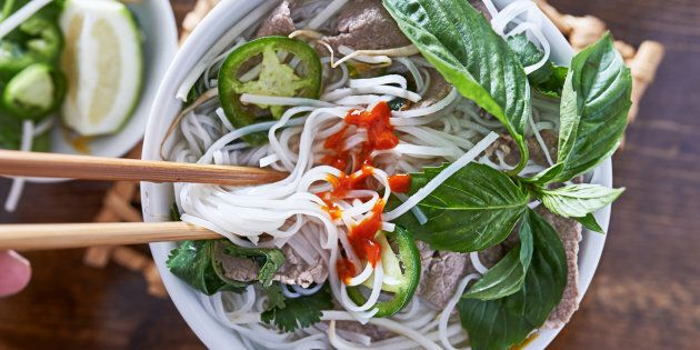 The Vietnamese soup, pho, is pronounced