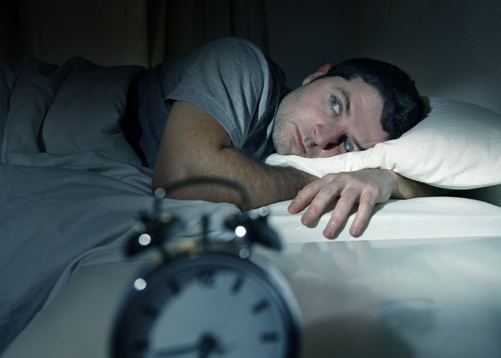 Insomniacs spend more time awake in bed.