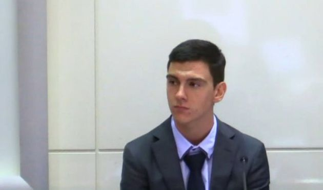 Dylan Voller gave evidence at a Royal