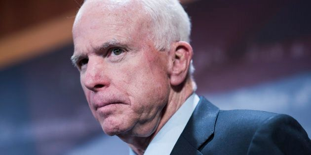 Sen. John McCain (R-Ariz.) had to assure Australia on Thursday that the United States is still a strong