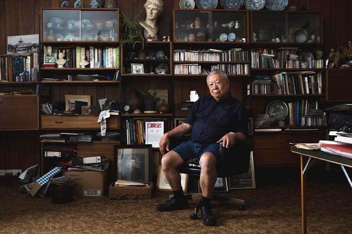 Dennis O'Hoy in his Bendigo home.
