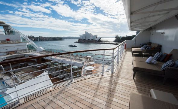 Seabourn Encore is the fourth ultra-luxury vessel to join the Seabourn fleet, with sister ship Seabourn Ovation scheduled to launch next year.