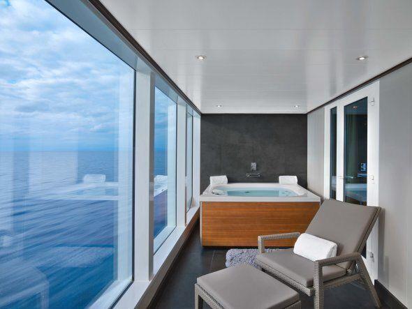 The Wintergarden penthouse suite.