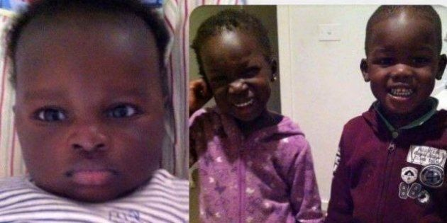 Akon Guode's four-year-old twins Madit and Hanger, and one-year-old son Bol died in the