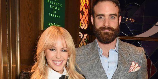 Kylie Minogue and Joshua Sasse have broken