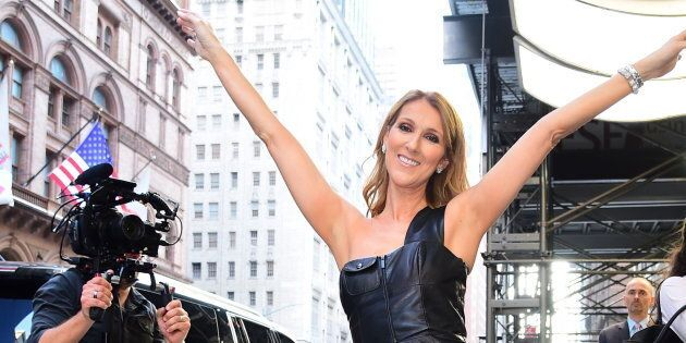 Céline Dion wants to help you up your style game in