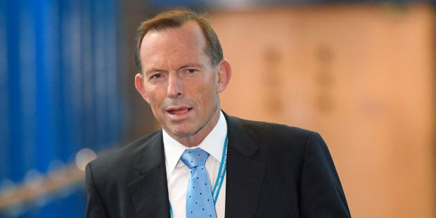 Tony Abbott wants the coalition to stand by plans for a national plebiscite on gay