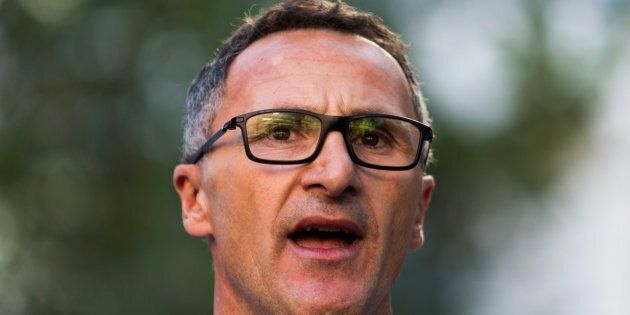 Richard Di Natale wants Australia to rethink its relationship with the