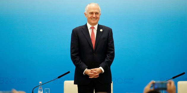 Donald Trump's press team have elevated Malcolm Turnbull to the position of Aussie
