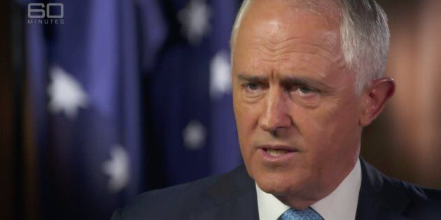 Malcolm Turnbull was grilled by Channel 9's Laurie Oakes on Sunday night over whether the President would...