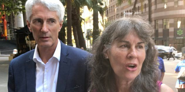 Anthony and Chrissie Foster say they are disgusted by the Catholic Church's response to sex abuse victims