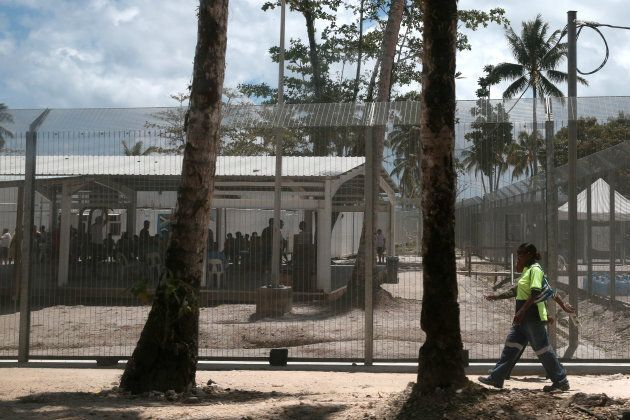 The Manus Regional Processing Centre on in