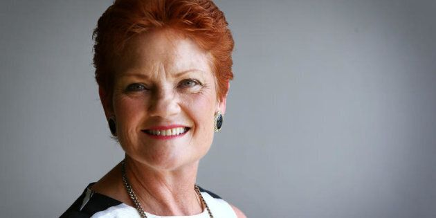 Senator Pauline Hanson says Vladimir Putin and Donald Trump