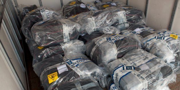 The Australian Federal Police have made the largest seizure of illegal cocaine in Australian