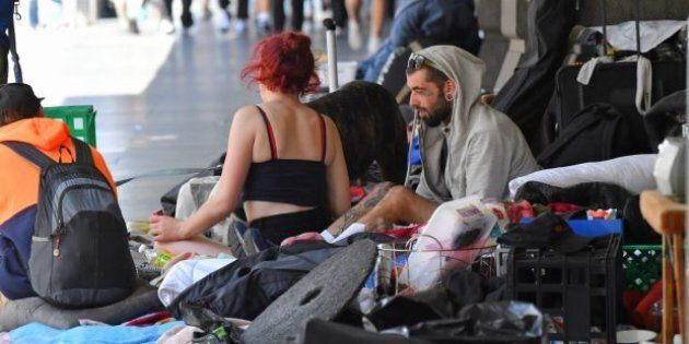 The amount of Australians sleeping rough in Melbourne's CBD has become an increasingly pressing issue...
