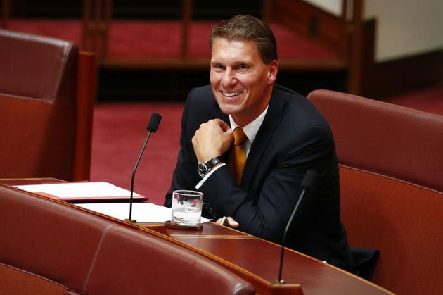 Senator Cory Bernardi has moved to a new crossbench seat in the